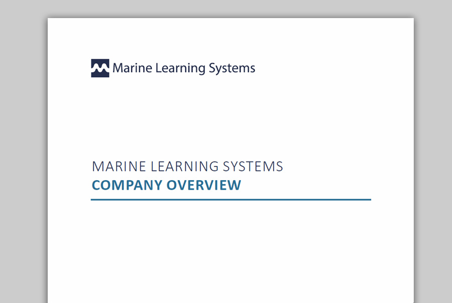 Marine Learning Systems - Company Overview