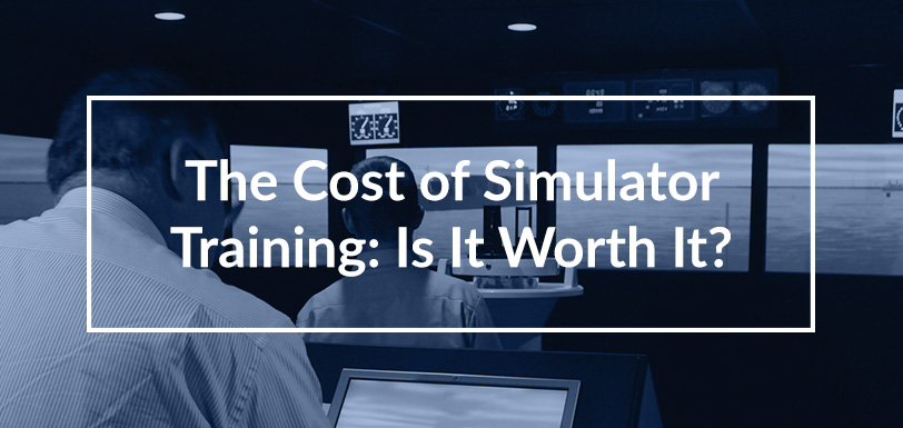 The Cost of Simulator Training - Is it Worth It