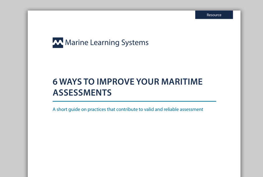 6 Ways to Improve Your Maritime Assessments